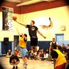 360ydc Ambassador & NCAA Star Dwight Powel winning the tip at Vaughan Willard Public School‎ (360ydc School Assembly)